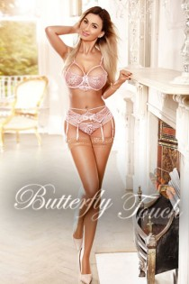 blonde escort Izabella